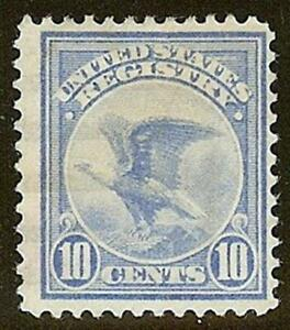 """F1 - 10c Registration Stamp """"Eagle"""" F-VF Used Cat $15"""