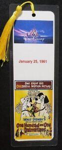 Disney Animation Movie Bookmark - Hand Made - Choose Movie - 5 ml thick - 8 x 3