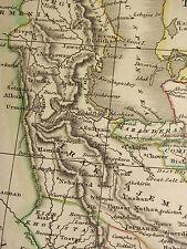 1815 DATED ANTIQUE MAP ~ PERSIA ~ SEGISTAN KERMAN FARS IRAK AJEMI KORASAN