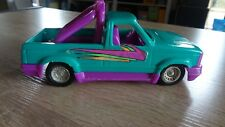 "Vintage Retro Tootsie Toy Plastic ""Custom Cruiser"" Pickup Truck! Green/Purple 7"""