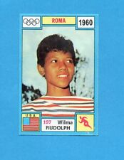 OLYMPIA-1972-PANINI-Figurina DA INCOLLARE! n.197- RUDOLPH - USA -Rec