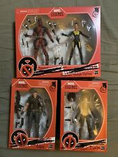 Deadpool Movie Marvel Legends Action Figures Lot NEW Cable Domino Negasonic Wade