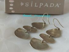 2 1/2 in. Long W2842 Silpada .925 Sterling Silver Rendezvous Earrings