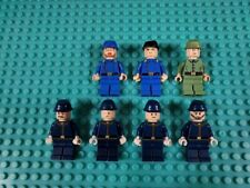 Lucky 7 LEGO Vintage Western Cavalry Cival War Soldiers Minifigures Lot