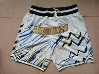 Just Don Golden State Warriors Shorts
