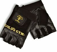 Golds GYM Max Lift Leather Weight Lifting Gloves Body Building Uneed Gym Gloves
