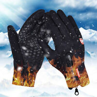 Touchscreen Winter Thermal Warm Gloves Outdoor Climbing Skiing Wind Water Proof