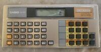 Vintage Casio Checkbook Calculator Model CB-100 Tested Works