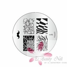 Konad Image Plate M98 Stamping Disc DIY Salon No.1 Nail Art UK Better than MoYou