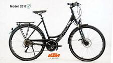 Damen Trekking Fahrrad KTM Veneto Light Disc 51cm Shimano LX schwarz Alu 2017