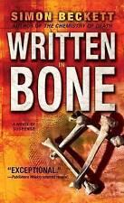 Written in Bone by Simon Beckett (Paperback, 2008)