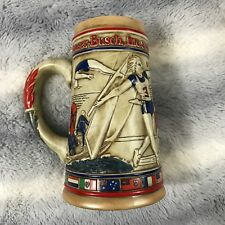 1980 LA olympic stein Budweiser stein Olympic Committee Collectors