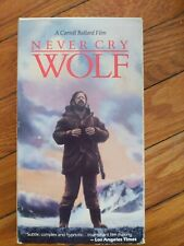 Never Cry Wolf (Vhs, 1997)