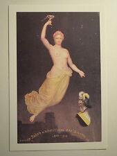 Heidelberg - Corps Suevia  Jahrhundertfeier 1810-1910 / Studentika Frau mit Glas
