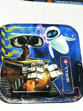 ~WALL-E~ DISNEY PIXAR 8-LUNCH PLATES  BIRTHDAY, CHILD HALLMARK  PARTY SUPPLIES