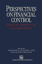 Perspectives on Financial Control: Essays in memory of Kenneth Hilton (Chapman &