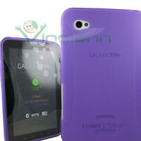 Custodia guscio sft BK TPU VIOLA per Samsung Galaxy TAB