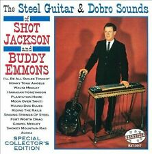 The Steel Guitar & Dobro Sounds by Shot Jackson/Buddy Emmons (CD, Jul-2013,...