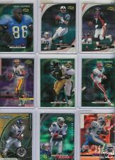 1999 UD IONIX FB 30 CARD LOT STARS ROOKIES INSERTS $82
