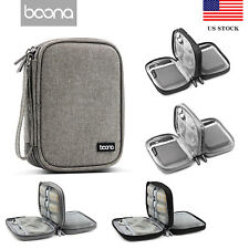 Baona Hard Drive Case Shockproof Carry Case with Strap for 2.5 inch External US