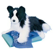 "Douglas CHASE BORDER COLLIE 16"" Long nose to tail Stuffed Animal Plush New"