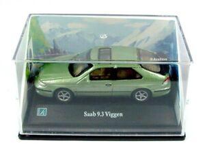 HONGWELL / 1:72 SAAB 9.3 Viggen (Metallic Green) / CARARAMA.