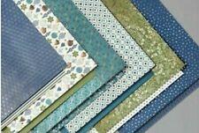 *NIP* Stampin' Up ! 12 Sheets Of 12x12 Brightly Gleaming Designer Series Paper