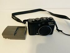 Canon PowerShot G9 12.1MP Digital Camera  Black