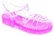 Scarpe Sandali rosa con fibbia per bambine dai 2 ai 16 anni