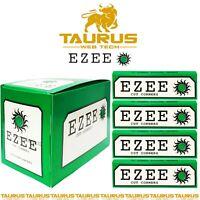1000 x EZEE GREEN Rizla Cut Corners ROLLING Papers Tobacco Cigarette Filters UK
