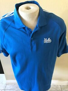 UCLA Bruins Adidas Performance Polo Shirt Size M