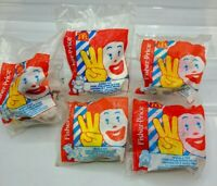 1996-99 McDonald's Fisher-Price Happy Meal Toddler Toys  Set of 5 *MIP*