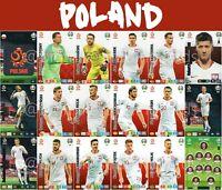 PANINI ADRENALYN XL UEFA EURO 2020 POLAND FULL 18 CARD TEAM SET - EUROS