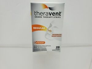 Theravent Snore Therapy Strips, Regular 20ct Exp 5/2019