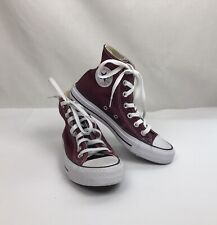 Converse Women's 6 Chuck Taylor All Star Red Maroon High Tops Sneakers Men's 4