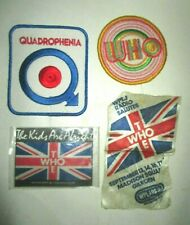 (4) The Who Patches