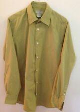 Banana Republic Men's Button Down Green Stretch Dress Shirt 15-15.5 Medium