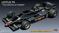 Hasegawa FG3 1/20 Lotus 79, 1978 German GP Winner from Japan