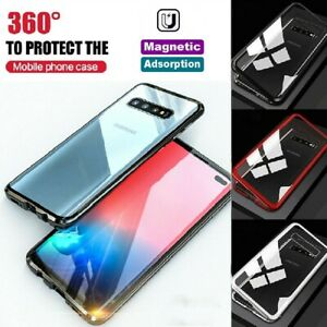 For Samsung S10 5G S10+ S10E Full Body Magnetic Absorption Case Cover Shockproof