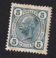 AUTRICHE N°: 84 NEW   year 1904  CV: 13 €