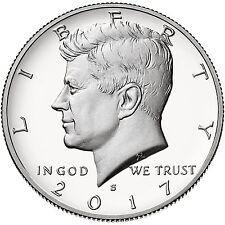 2017 S Silver 50C Kennedy Half Dollar Proof Deep Cameo Gradable