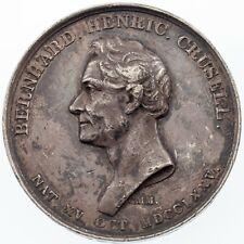 Bernhard Crusell Silver Medal by Carl Magnus Mellgren 39.3 grams