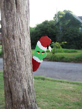 GRINCH TREE PEEKER PEEPER CHRISTMAS YARD ART WOODWORKING PLANS PATTERNS LADIES