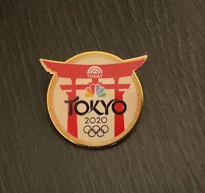 Tokyo 2020 NBC the today show media pin