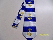 U.S.N., U.S Navy, sailor, Naval, Officer, Enlisted Military Men's necktie #7 NEW