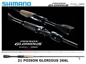 Shimano 21 Poison Glorious 266L spinning rod ship from Japan