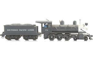 HO Scale Southern Pacific 4-6-0 Steam Locomotive w/ Tender Runs Nice No HL