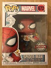 Spiderman Con Pizza Funko Pop