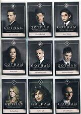 Gotham Season 1 Complete Character Bios Chase Card Set C1-15