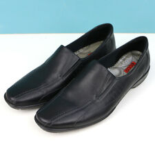 Ecco Men's Black Shoes Slip On Loafers Size 41 US 7-7.5